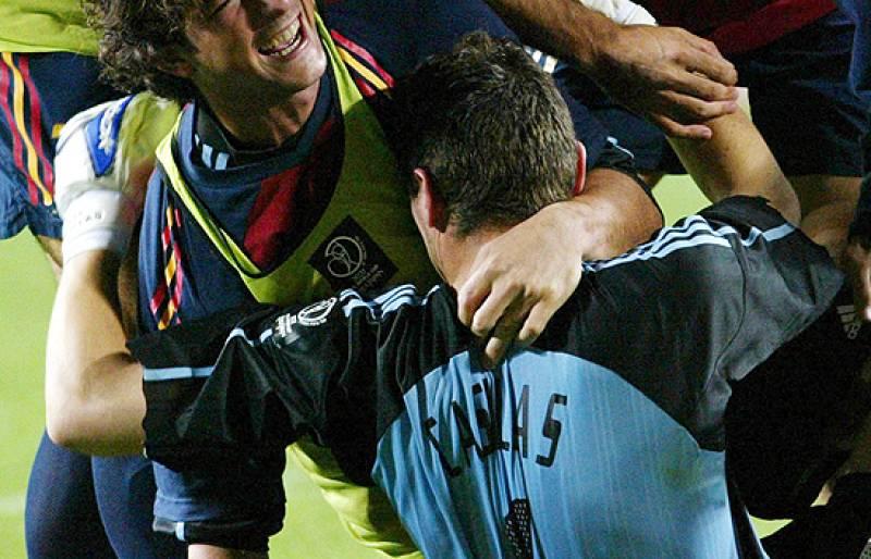 Los octavos de final de Korea y Japón 2002 entre España e Irlanda se resolvió en la tanda de penaltis. España pasó a cuartos gracias al gran Iker Casillas.