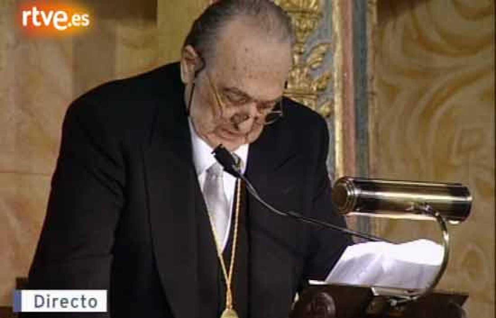 Discurso Rafael Sánchez Ferlosio, Premio Cervantes 2004