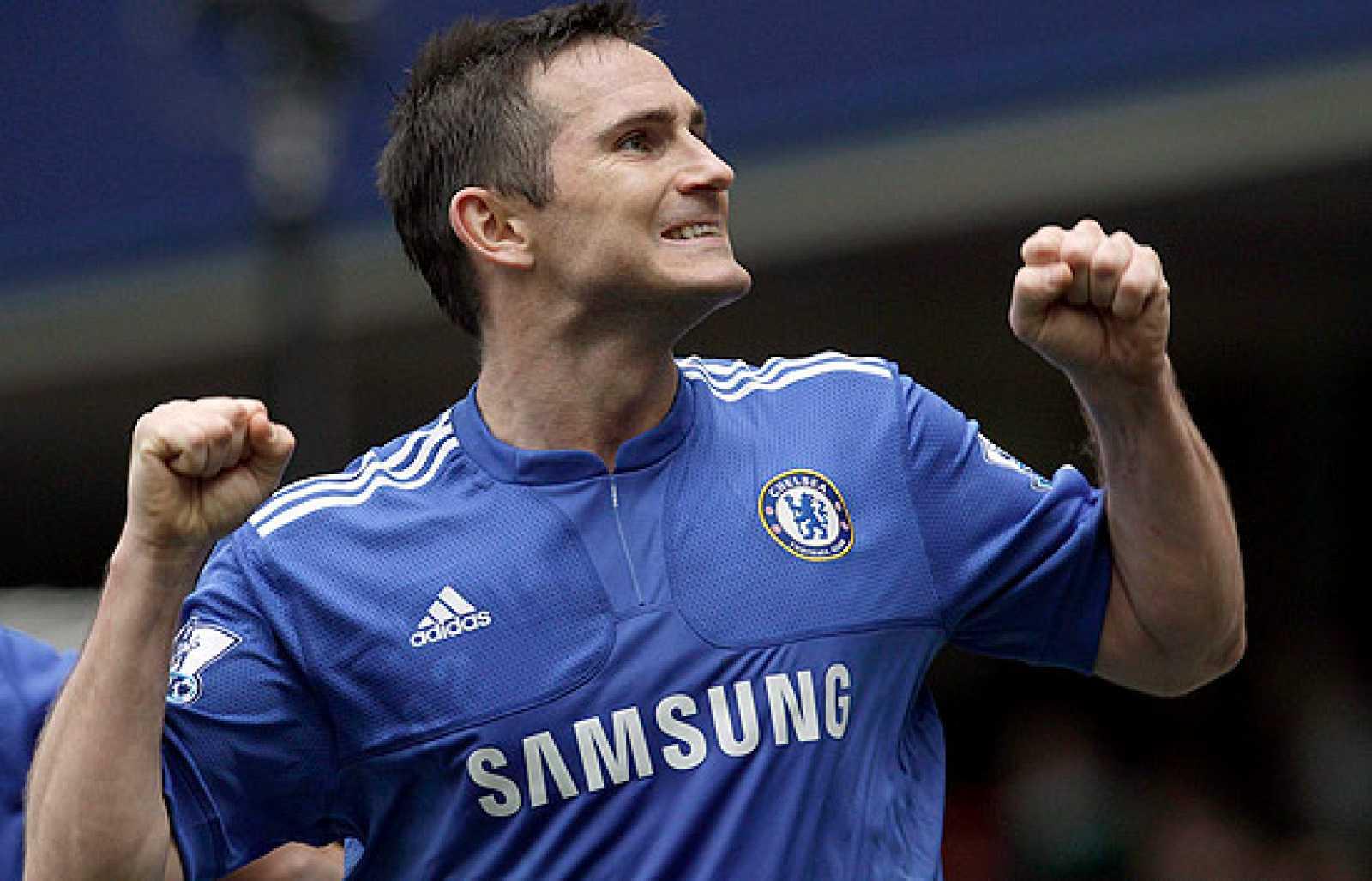 El Chelsea ha vapuleado al Aston Villa por 7-1, con cuatro tantos de Lampard.
