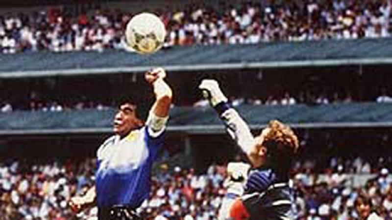 Todos los goles de Maradona en el Mundial México 86
