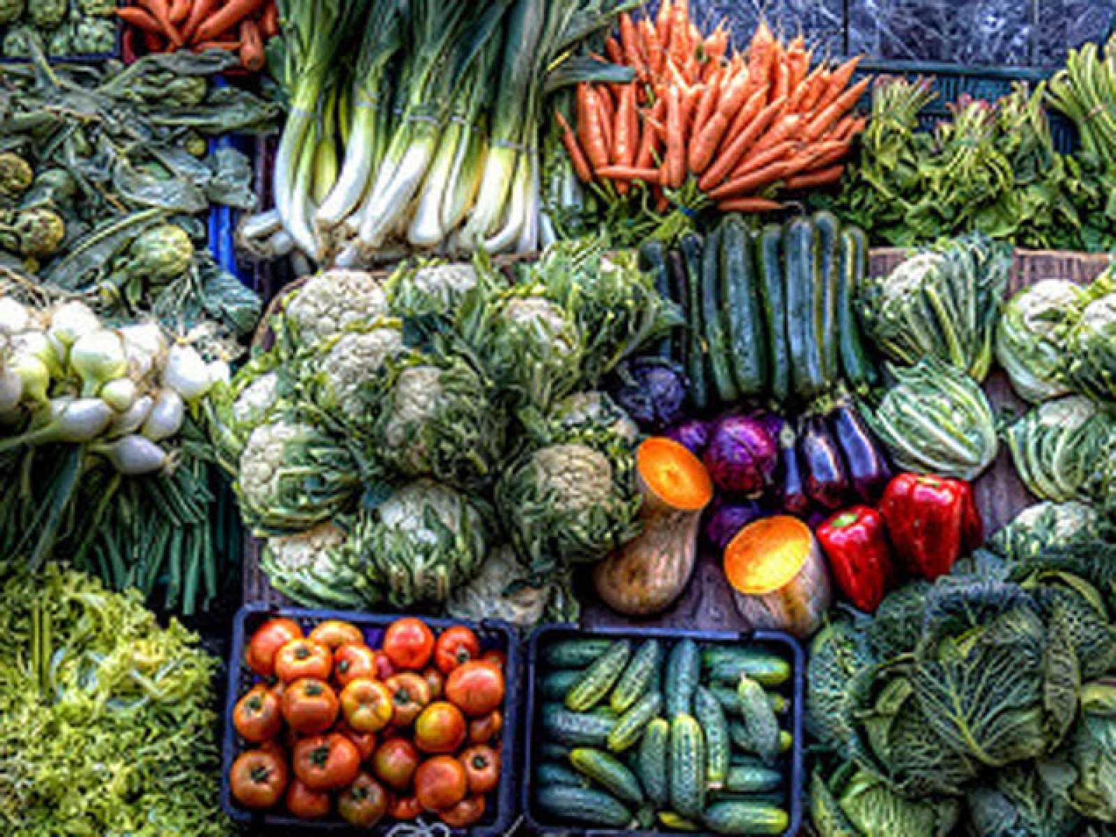 Frutas y verduras como las de antes