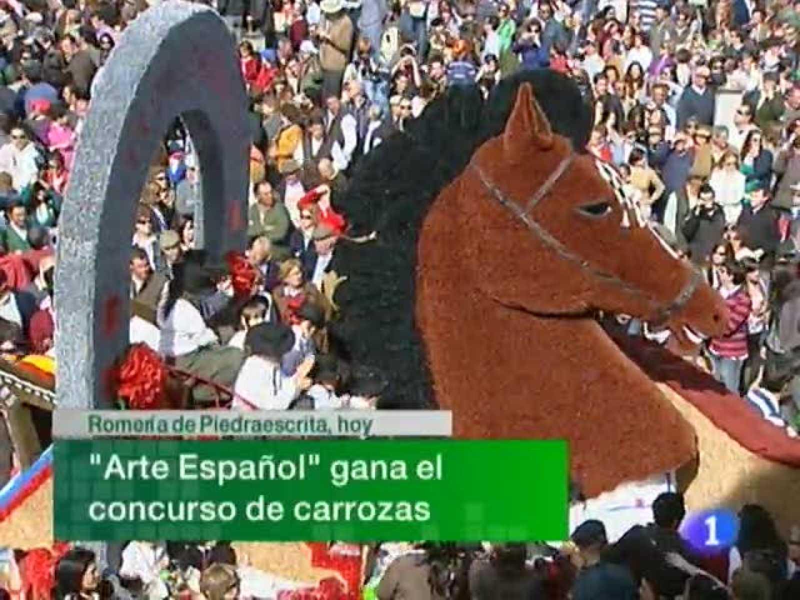 Noticias de Extremadura. Informativo Territorial de Extremadura. (05/04/2010)