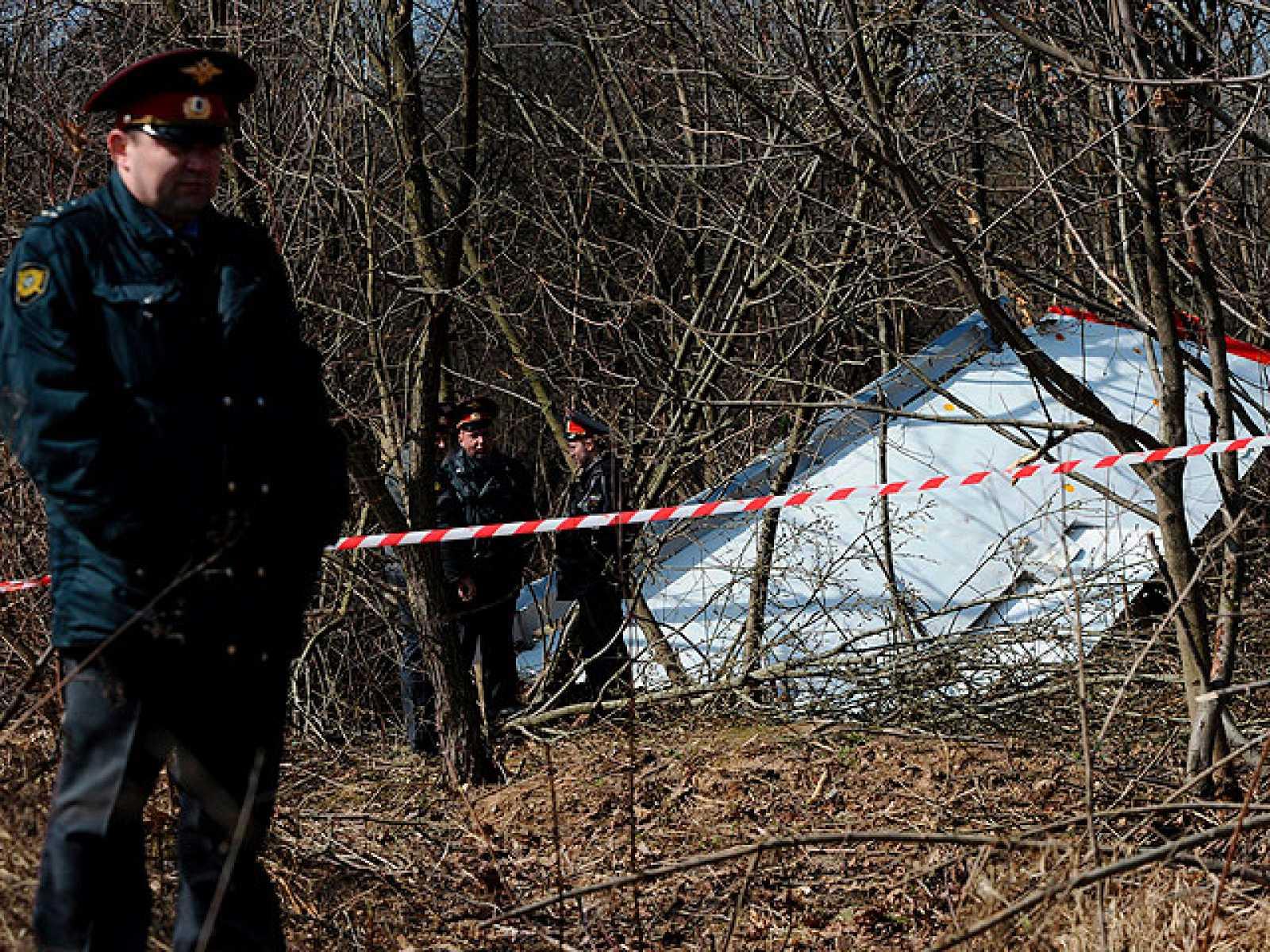 Conmoción en Polonia tras la muerte de su presidente en accidente aéreo