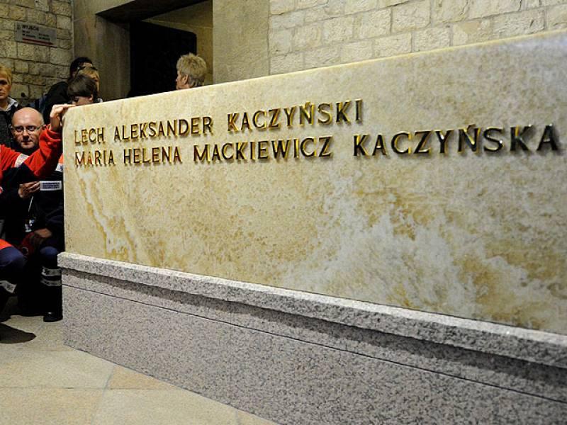 Entierro del presidente Kaczynski
