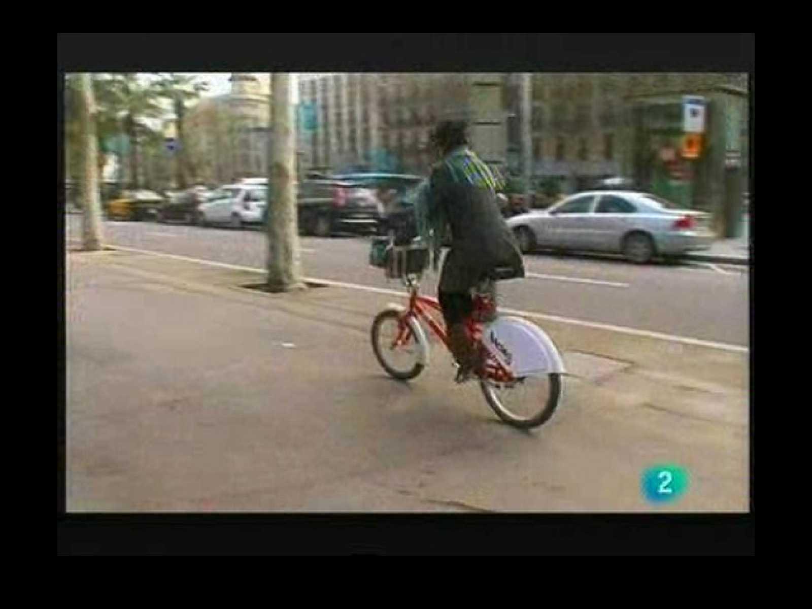 Terra Verda: La bici a la ciutat