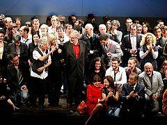 El mundo del teatro vive su gran fiesta