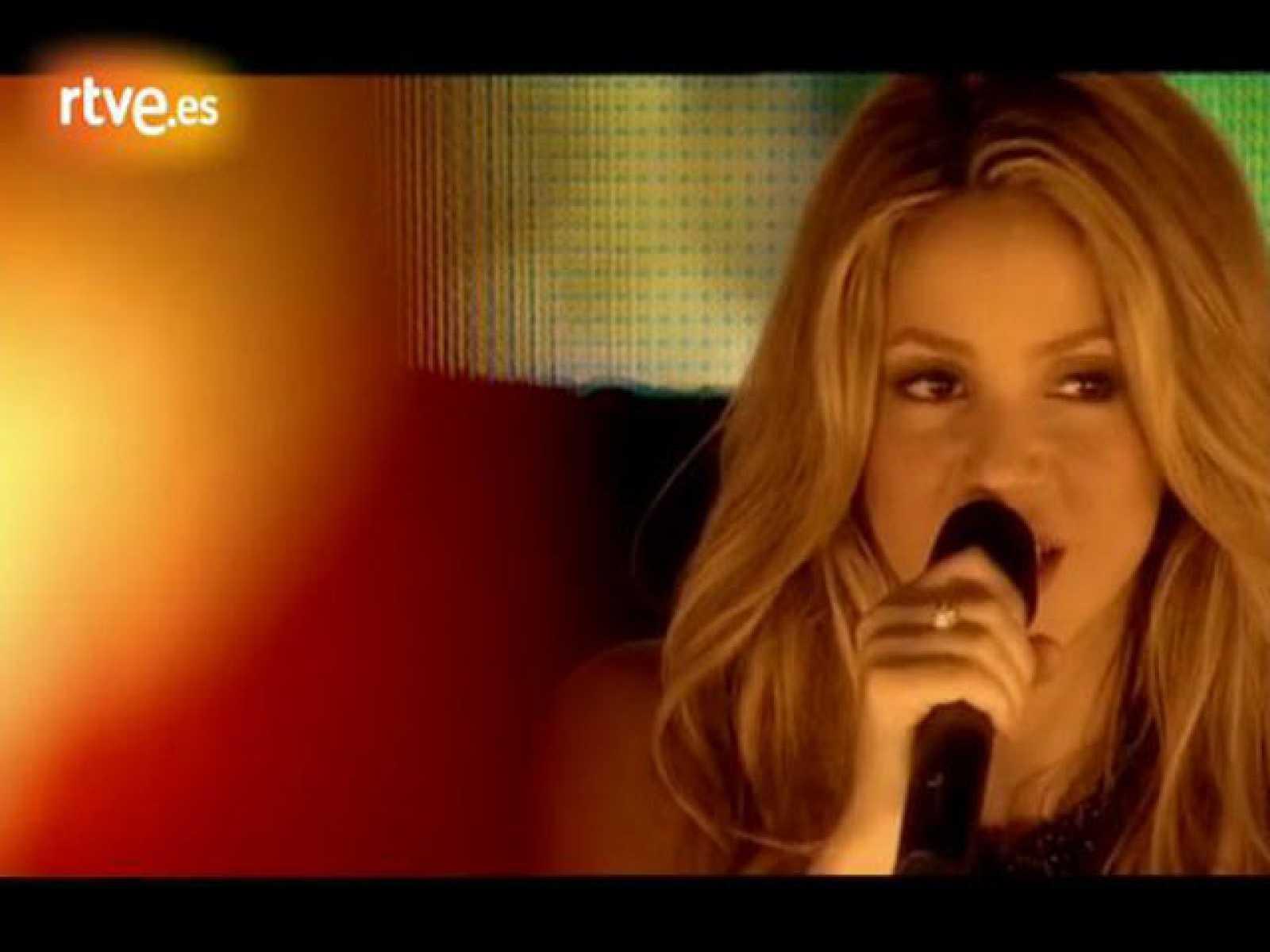 Shakira desenchufada: 'Gypsy'