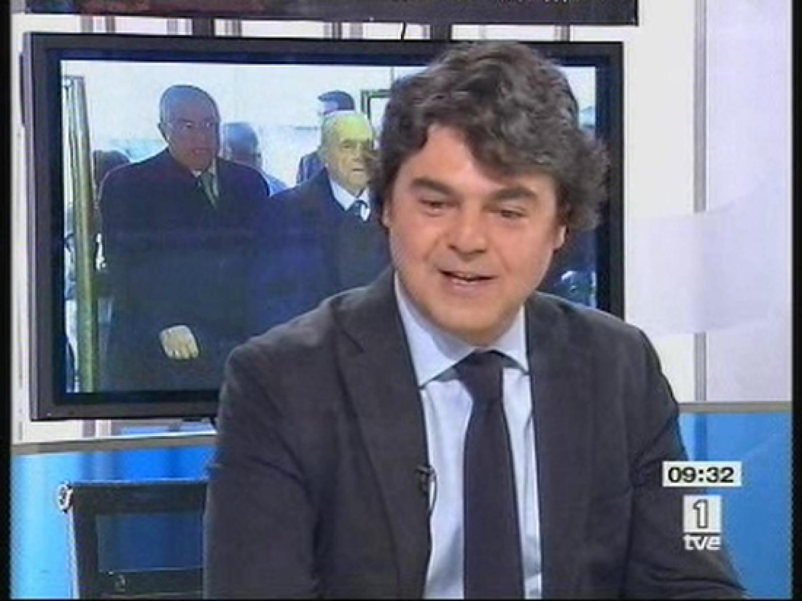 Jorge Moragas, en Los Desayunos de TVE