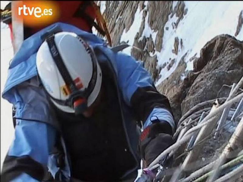 Primera entrega de la expedicón de Edurne Pasabán al Nanga Parbat.