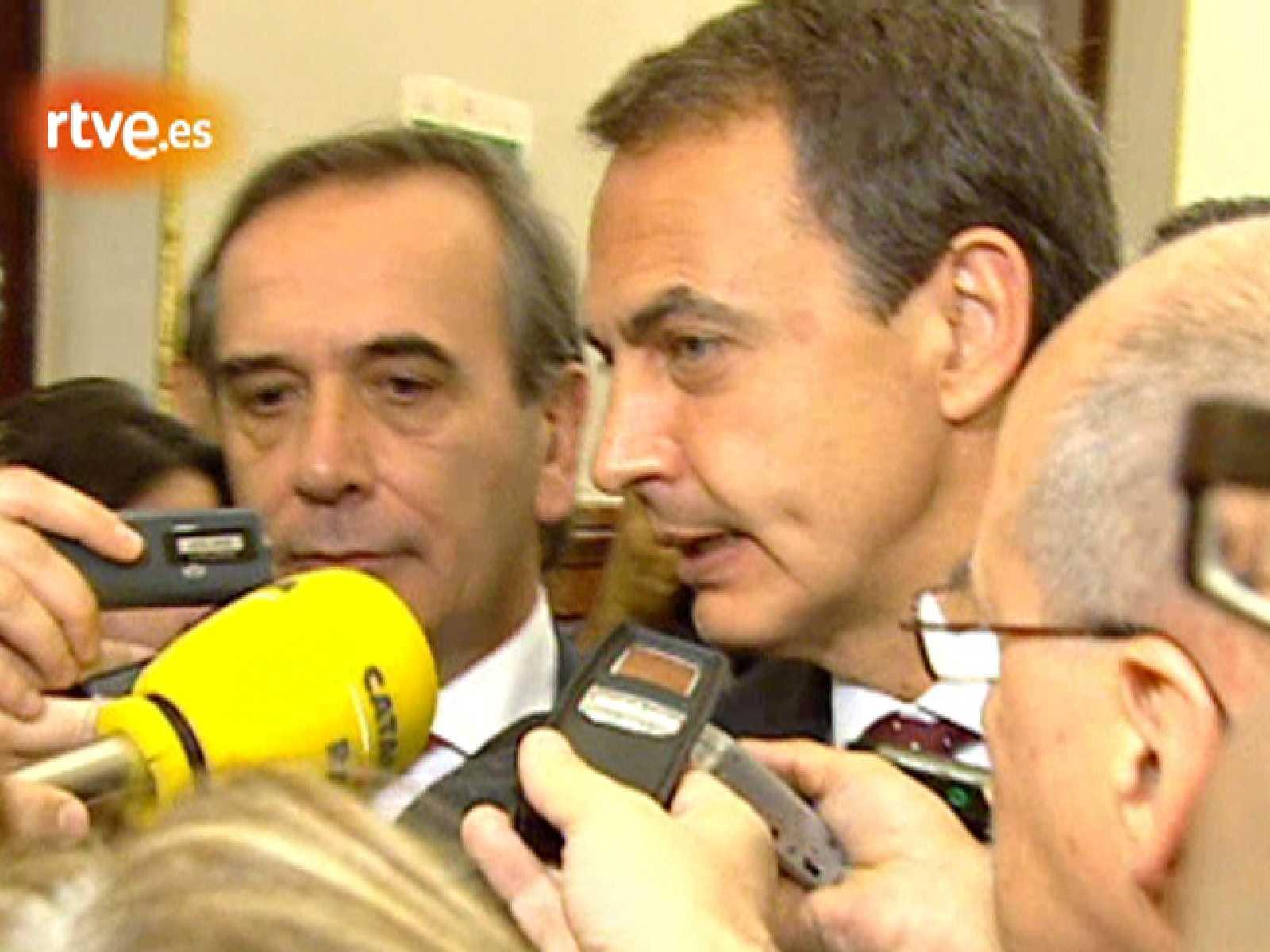 """Zapatero: """"Seguiremos trabajando para conseguir mayor consenso parlamentario"""""""