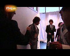 Eurovisión 2010 - Dani se prepara para la segunda actuación