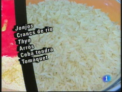 "Les cuines dels nous catalans - Haití: Arròs amb ""jonjo"""