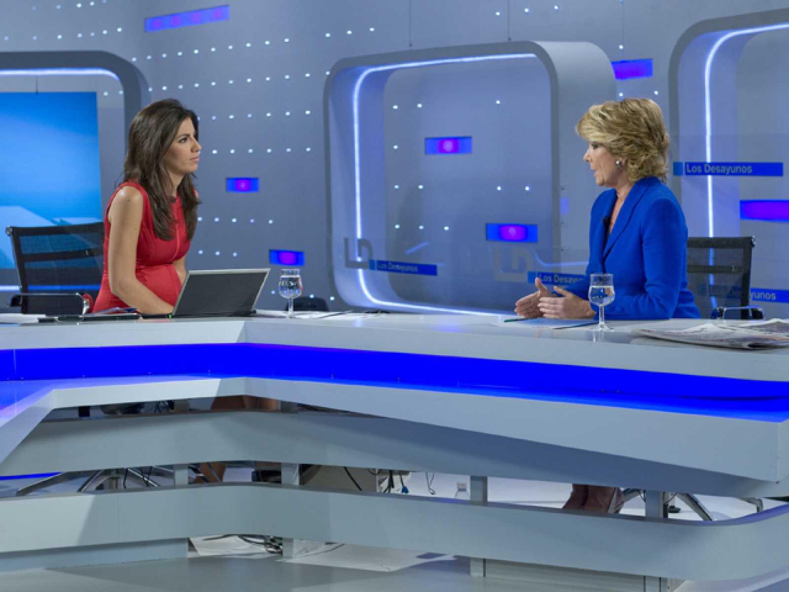 Entrevista íntegra a Esperanza Aguirre en 'Los desayunos de TVE'