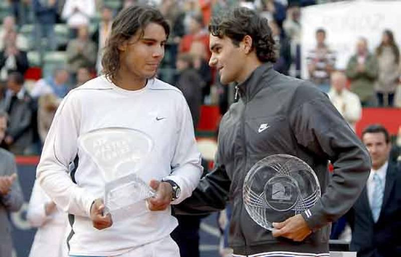 Nadal vence a Federer en Hamburgo