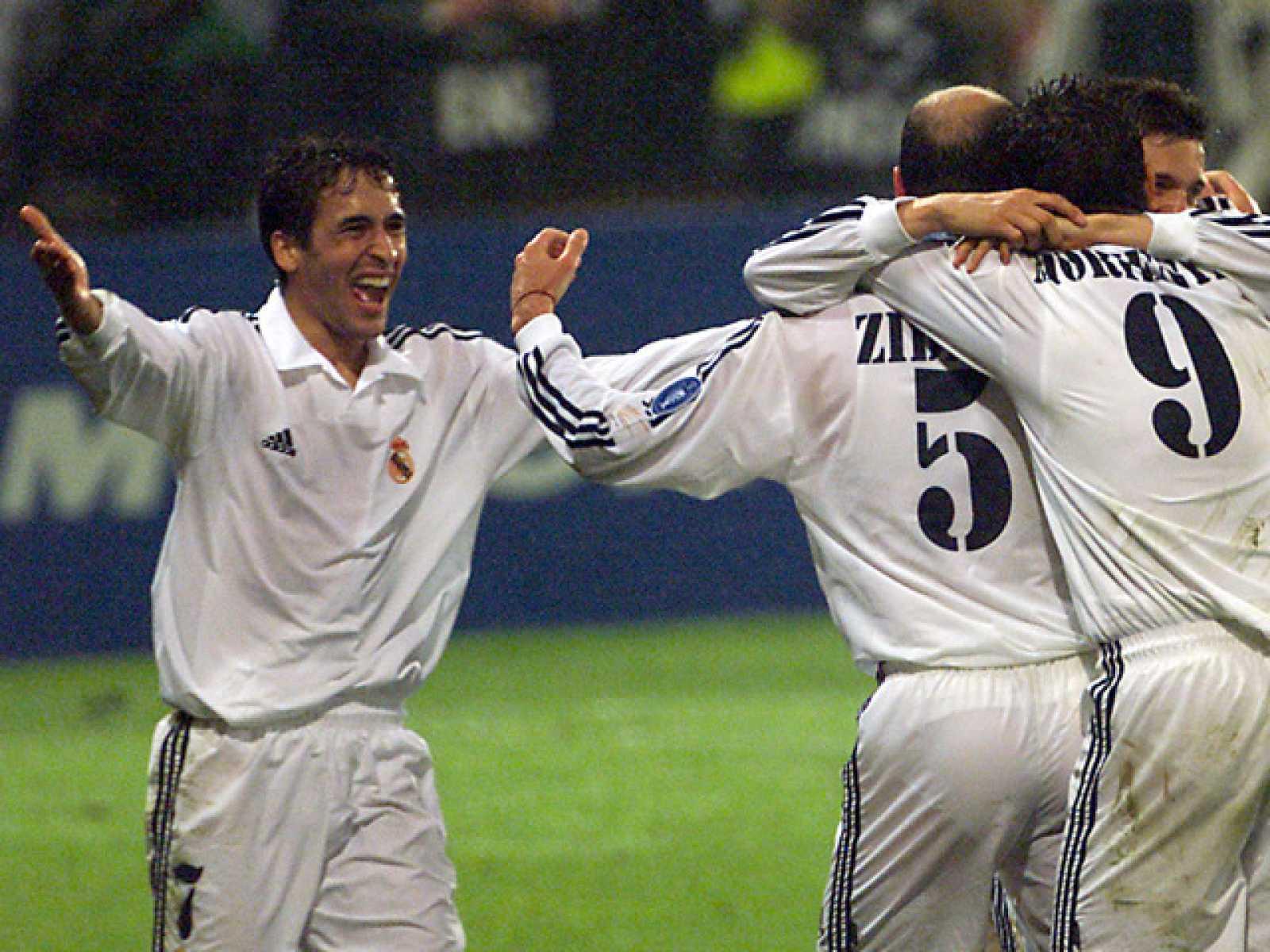 Raúl fue pieza fundamental en la consecución de la novena Copa de Europa del Real Madrid.