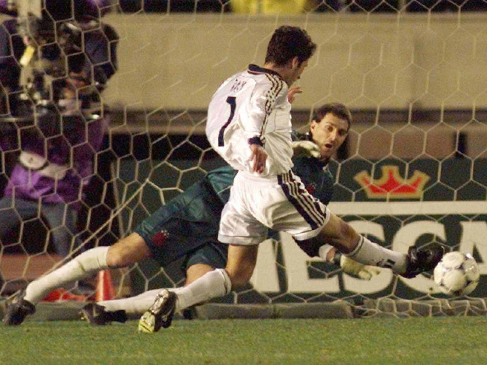 Declaraciones del jugador del Real Madrid, Raúl, sobre el gol que marcó en la final del campeonato de clubs en 1998.