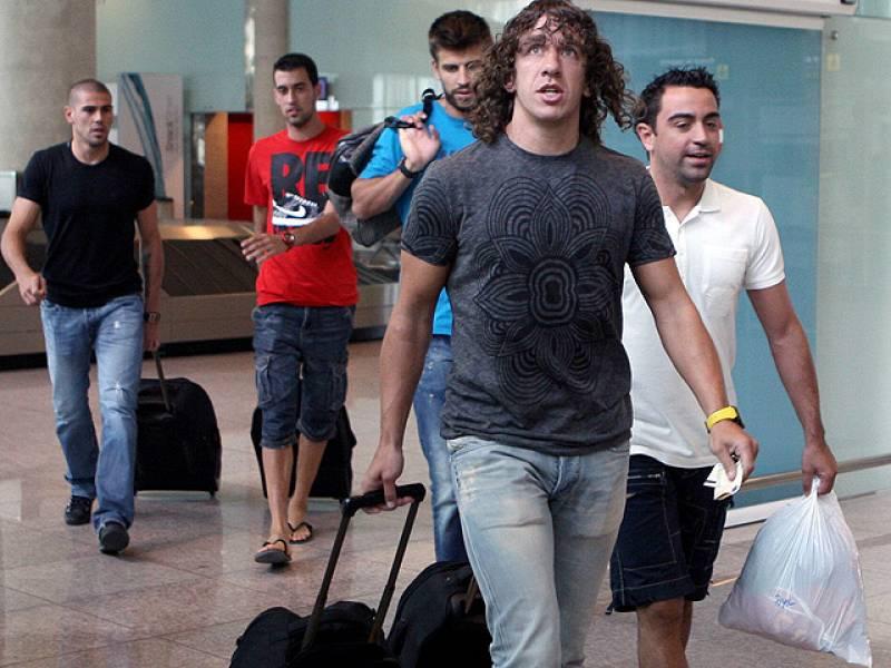 Los internacionales españoles del Barcelona ya se han incorporado a los entrenamientos del club azulgrana y, aunque no jugarán la ida de la Supercopa, el Sevilla no se fía de su rival.