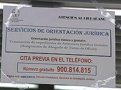 Reporteros del telediario - La crisis ha hecho que en España el turno de oficio haya asumido 400 mil casos más al año