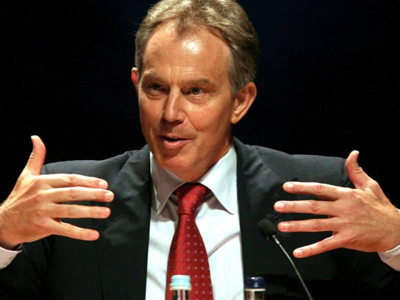 Presentación del libro con las memorias de Tony Blair