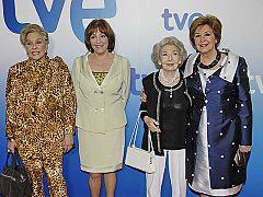"""Las chicas de oro - Las """"chicas de oro"""" presentan ante la prensa el primer capítulo de la serie"""