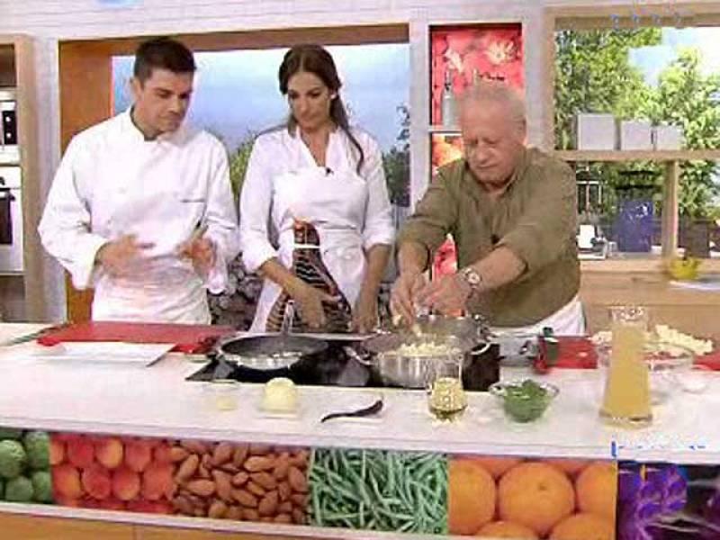 """Juan Echanove cocinando en """"La Mañana de La 1"""""""