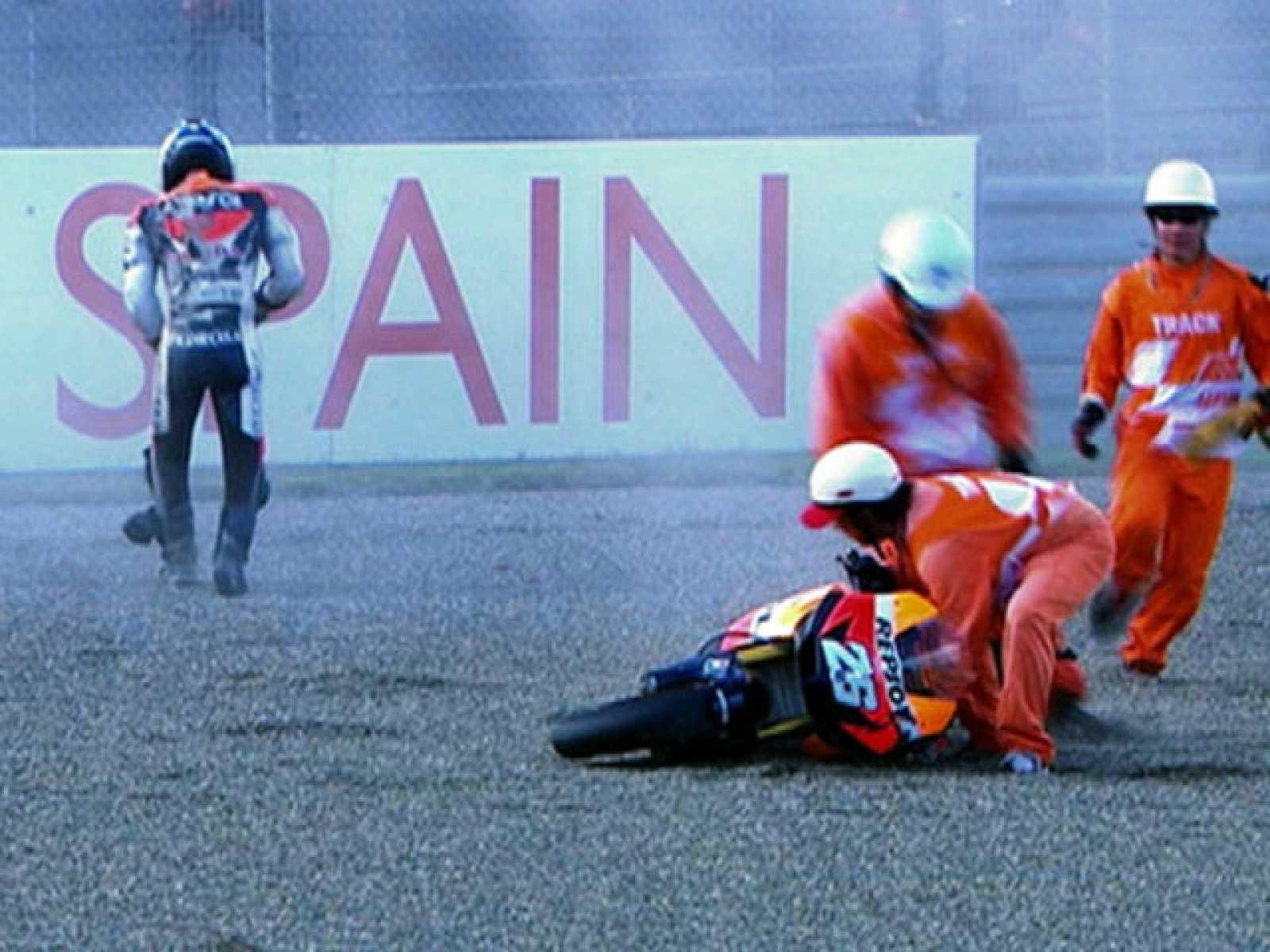 Pedrosa ya ha sido operado de la fractura de clavícula que se produjo en los primeros entrenamientos libres del Gran Premio de Japón.