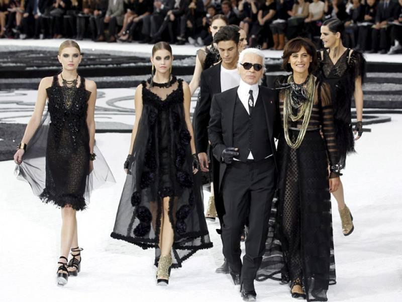 Desfile memorable de Karl Lagerfeld