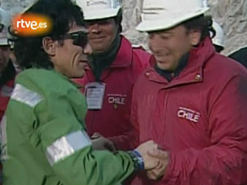 Claudio Yáñez, 34 años, el octavo minero rescatado