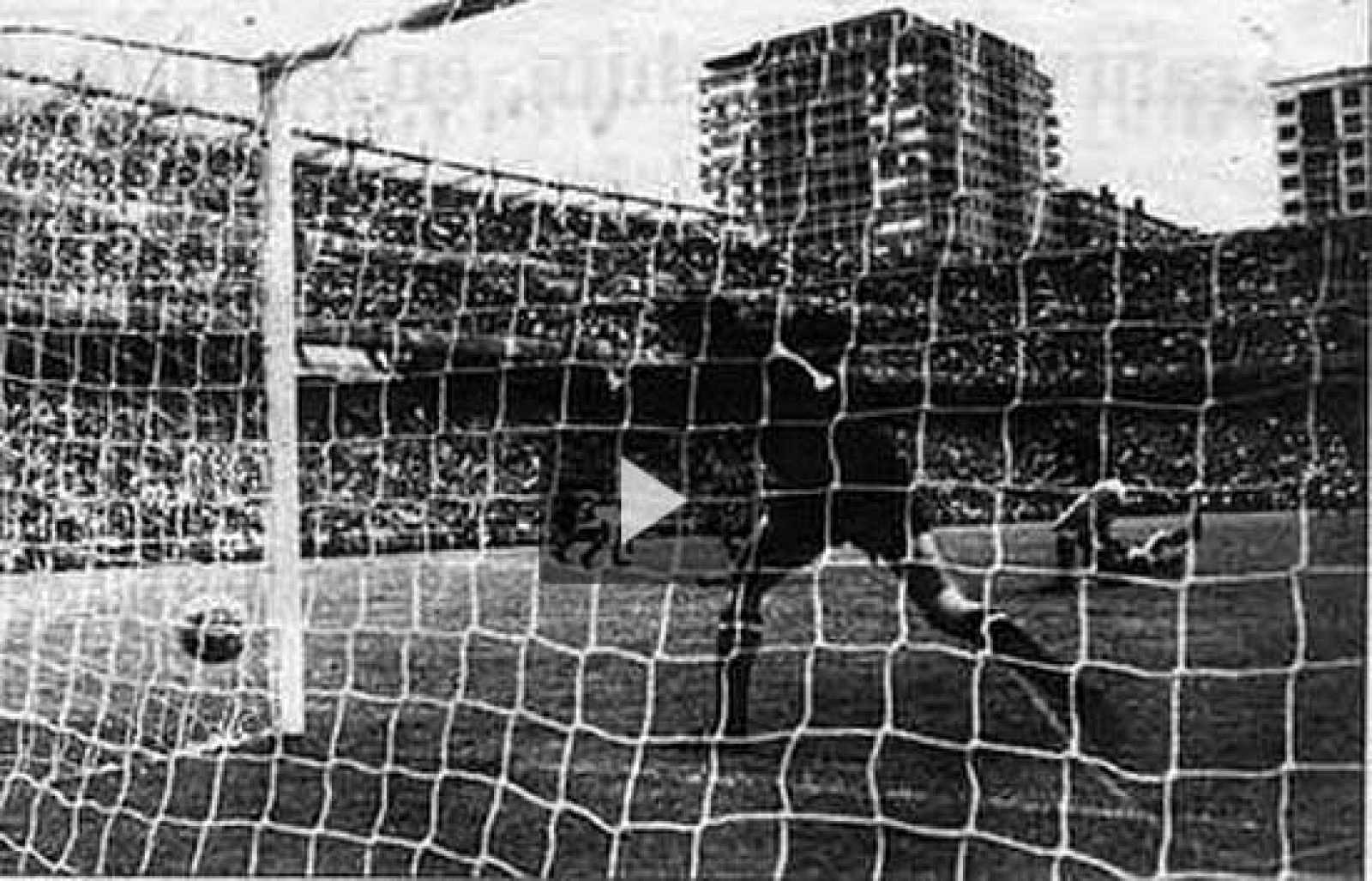 Muchos años después, se supo que el pase del gol de Marcelino no lo dio Amancio.