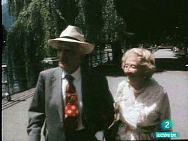Emilia Szekely y Salvador Madariaga