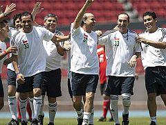 Fútbol en homenaje a los mineros