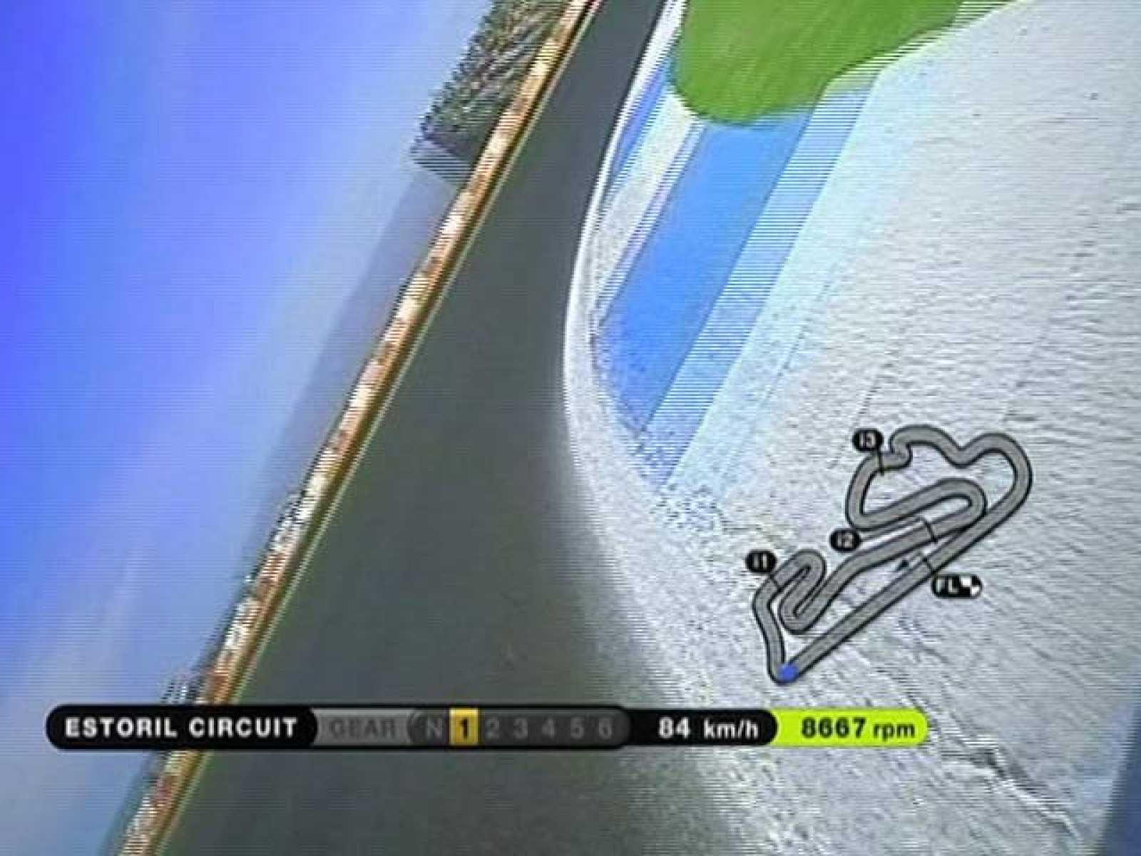 Así viven los pilotos cada giro al circuito portugués.