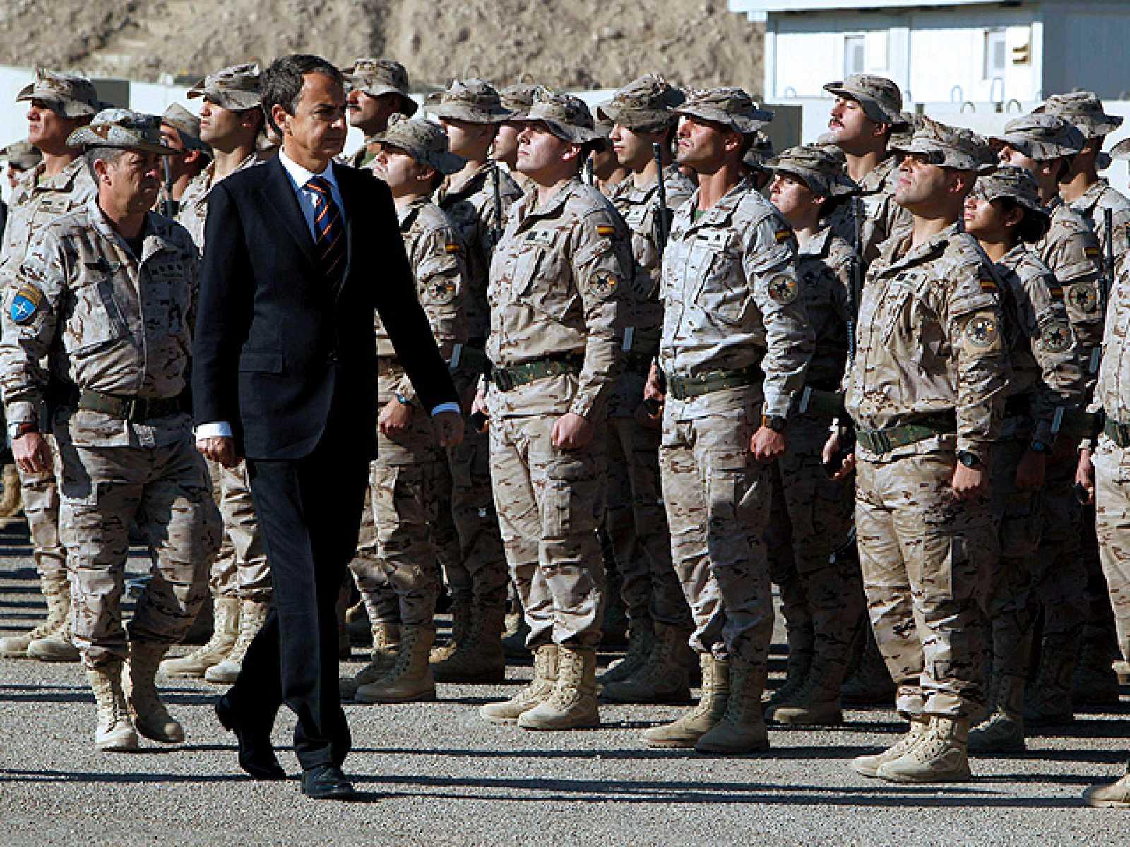 Visita sorpresa de Zapatero a Afganistán