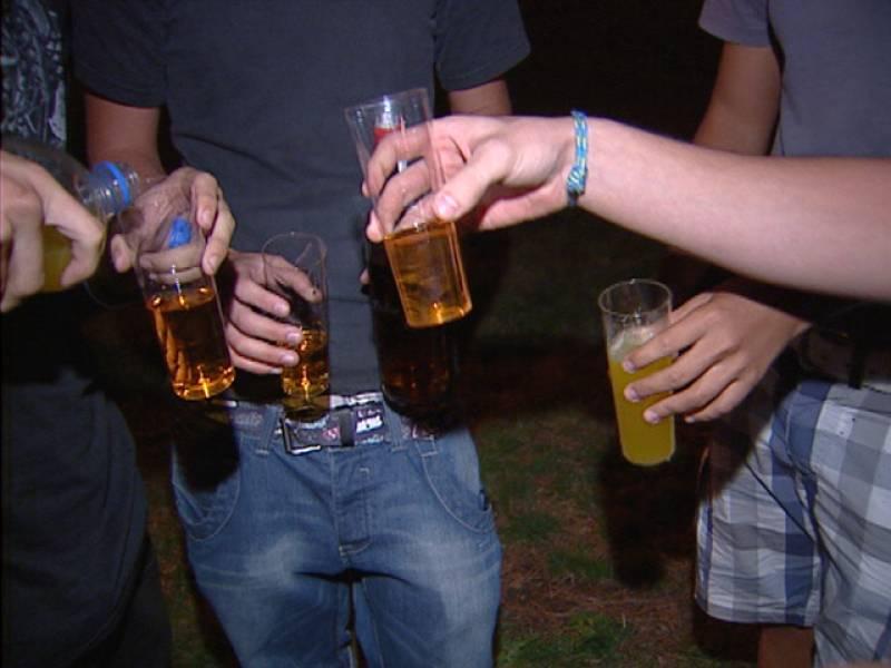 Los jóvenes cada vez empiezan antes con el Alcohol y las drogas