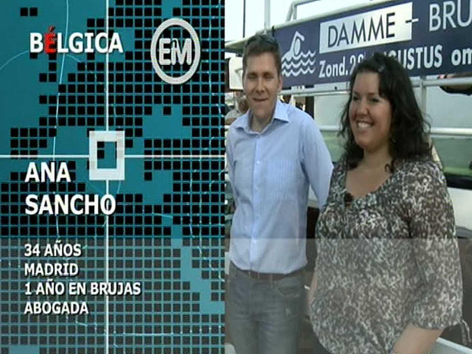 Españoles en el mundo - Bélgica - Ana