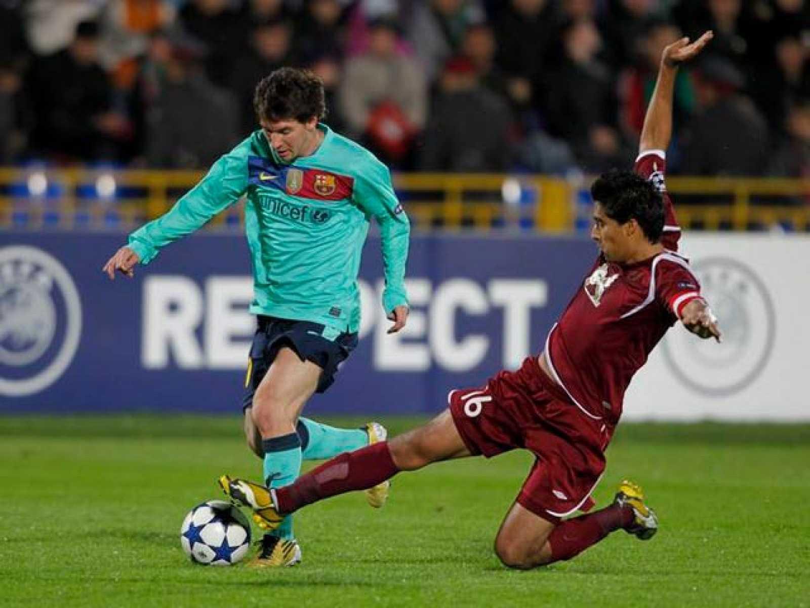 El Rubin Kazan ruso, próximo rival del Barça en Champions (en directo por La 1), es el único equipo que puede presumir de no haber perdido aún contra los de Guardiola