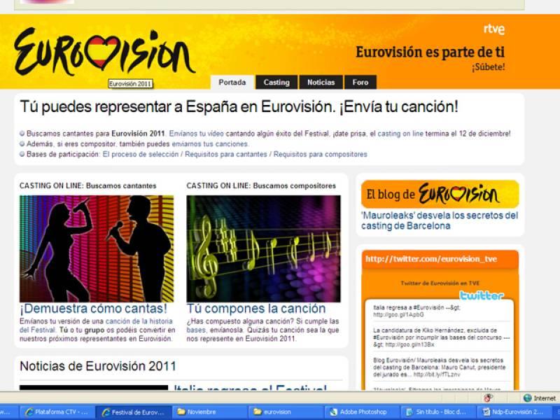 TVE comienza el proceso de selección del candidato a Eurovisión