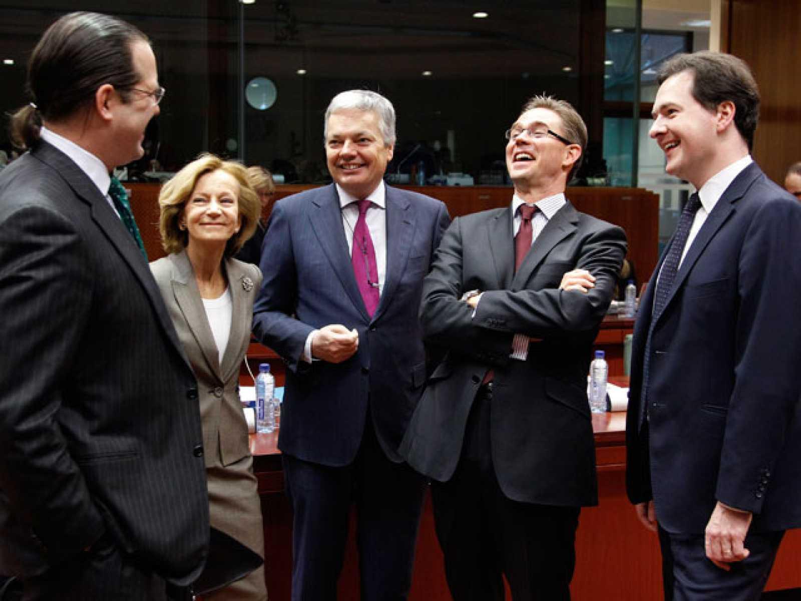 La UE aprueba la contribución europea al rescate de Irlanda