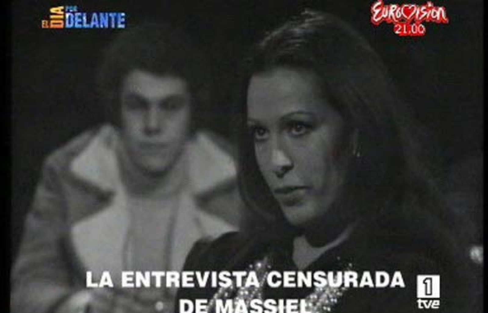 El día por delante emite en exclusiva una entrevista a Massiel que fue censurada en 1973 y en la que pedía la instauración del divorcio y se declaraba antifascista (24/05/08).