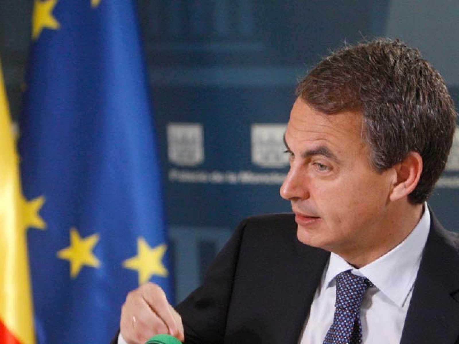 """Zapatero: """"El dato del paro mejora en diciembre"""""""