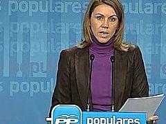 """El pp afirma que eta dice lo mismo de siempre """"sin ningún arrepentimiento"""""""