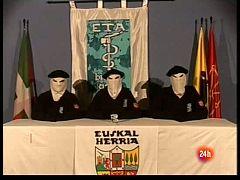 Comparamos dos comunicados de tregua de la banda terrorista ETA