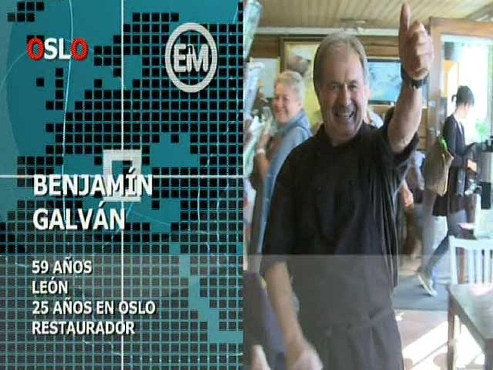 Españoles en el mundo - Oslo - Benjamín