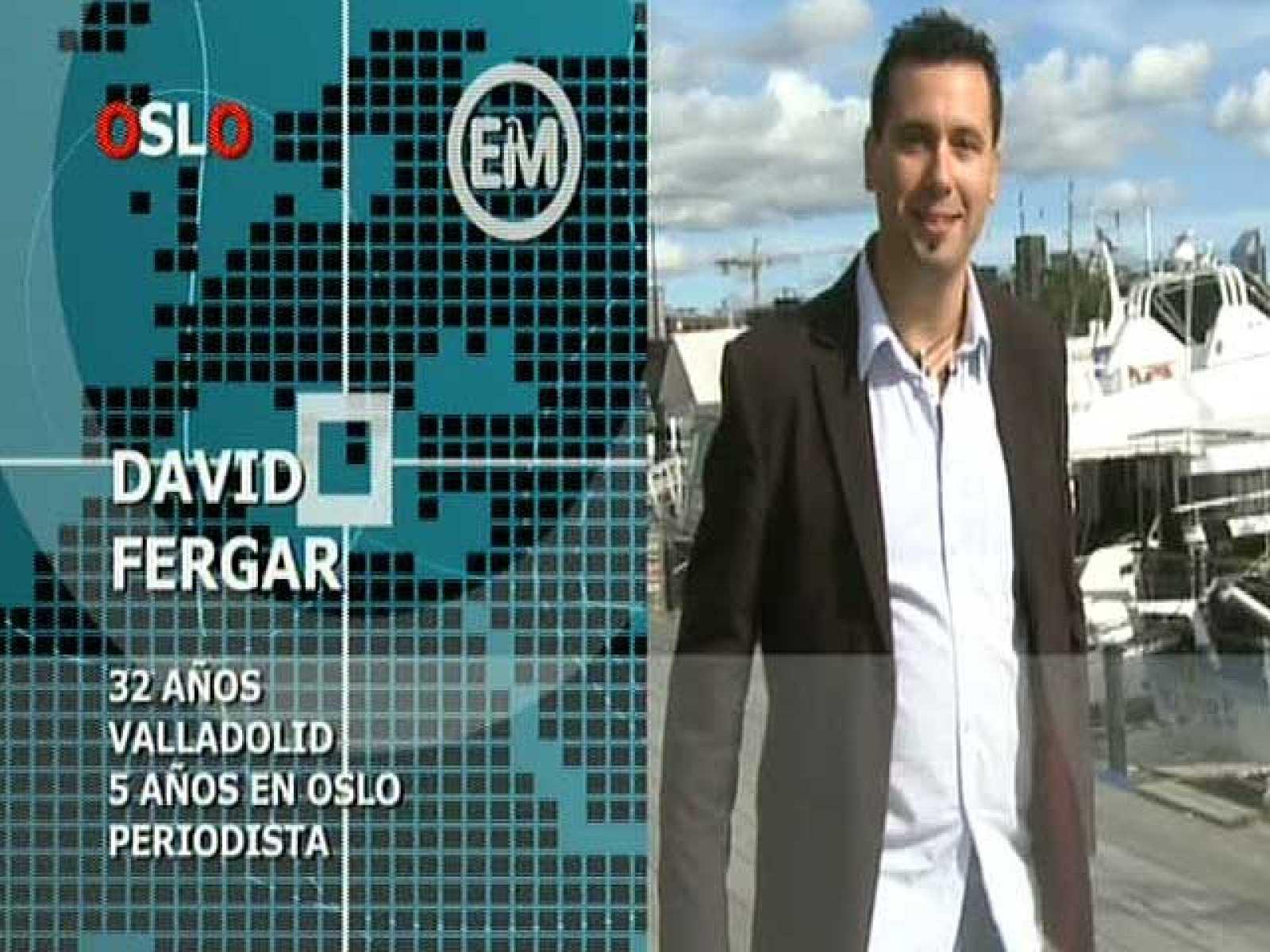 Españoles en el mundo - Oslo - David