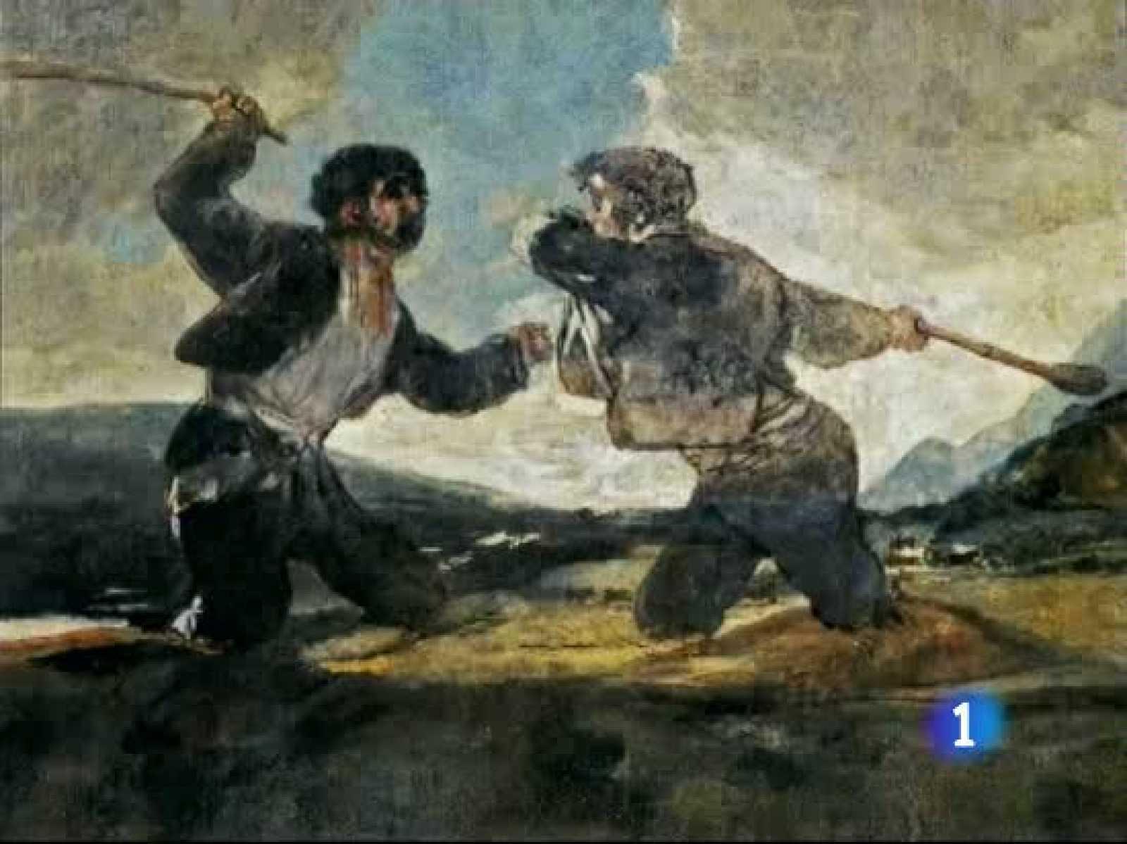 No todo lo que vemos en las pinturas negras de Goya lo pintó el genio aragonés