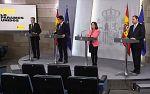 Comparecencia de los 4 ministros del comité del Coronavirus