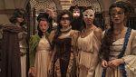 Los detalles del vestuario del baile de máscaras